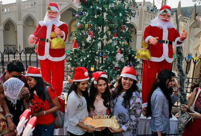 Celebrate Christmas in India